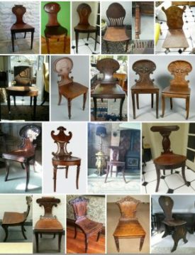 Photo of the author's chair collection | Image courtesy of Robert Pitt