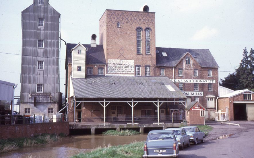 Broom Mill, May 1972. | Image courtesy of Tim Booth