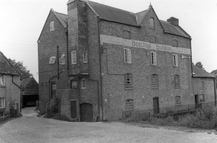 Burmington Mill, 1972. | Image courtesy of Tim Booth