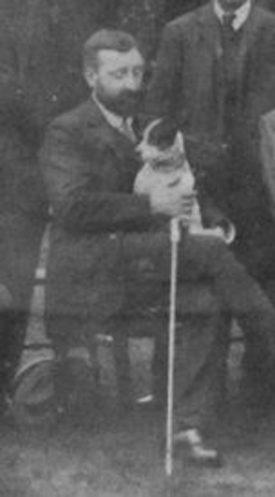 Photo of Ernest Hadow, circa 1911 | Photo courtesy of Robin Leach