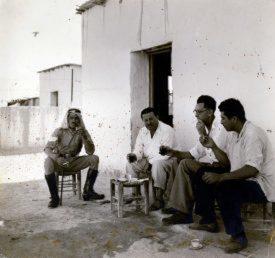 Photo of Ronald Gardner on location in Palestine | Photo courtesy of Peter Gardner