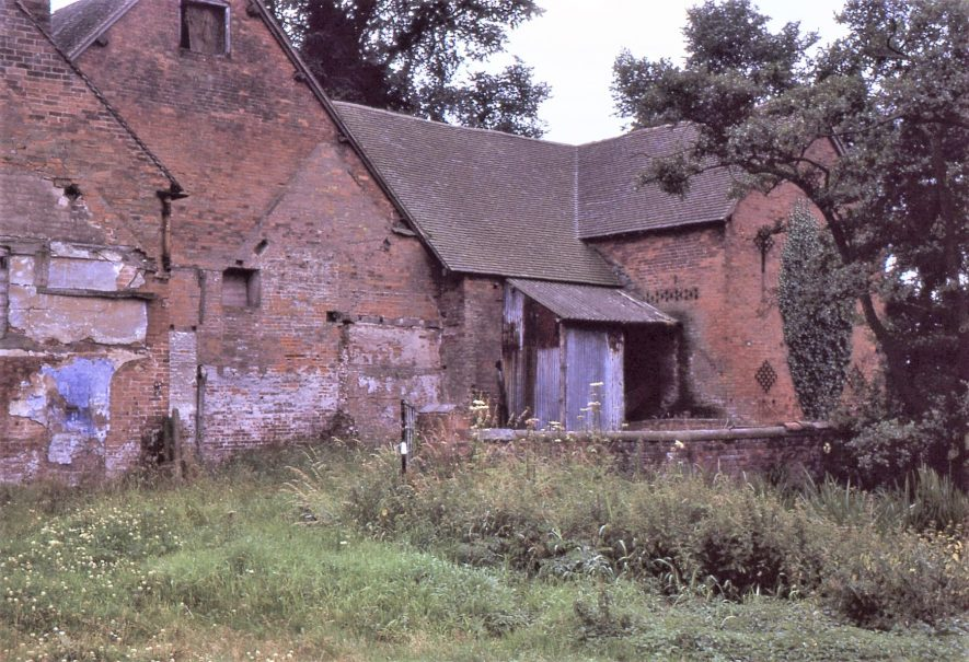 Maxstoke Mill, July 1971, from downstream | Image courtesy of Tim Booth