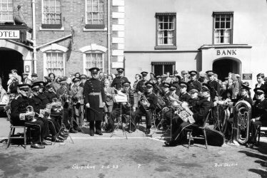 Shipston-on-Stour.  Town Band