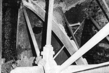 Meriden.  Mercote Mill Overshot Waterwheel