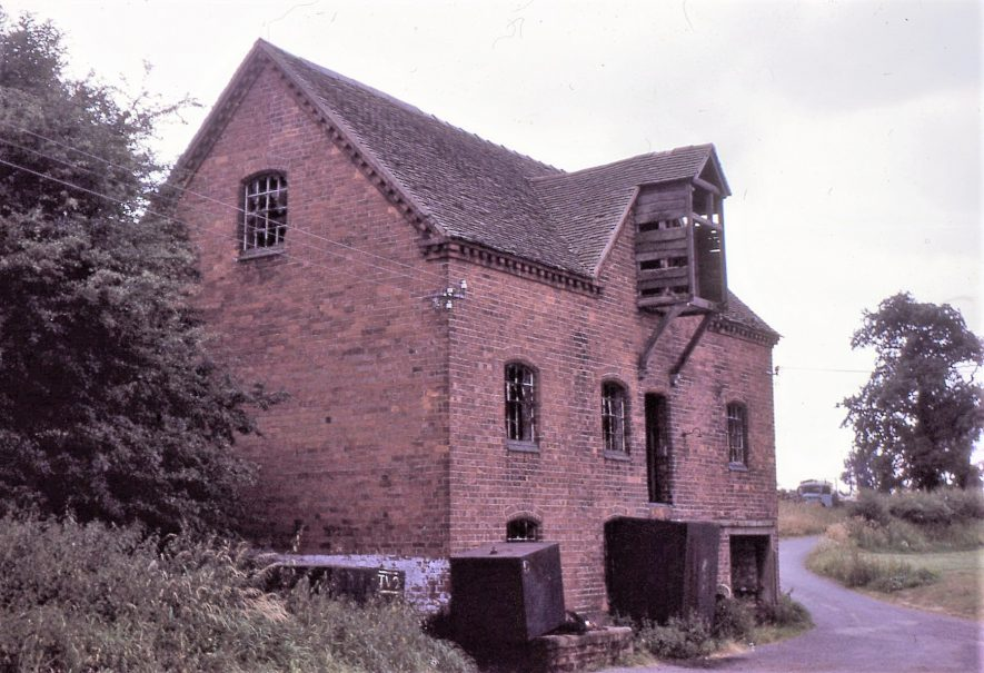 Mercote Mill, October 1970. Now demolished | Image courtesy of Tim Booth