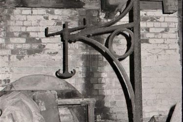 Meriden.  Mercote Mill Millstones and Stone Crane