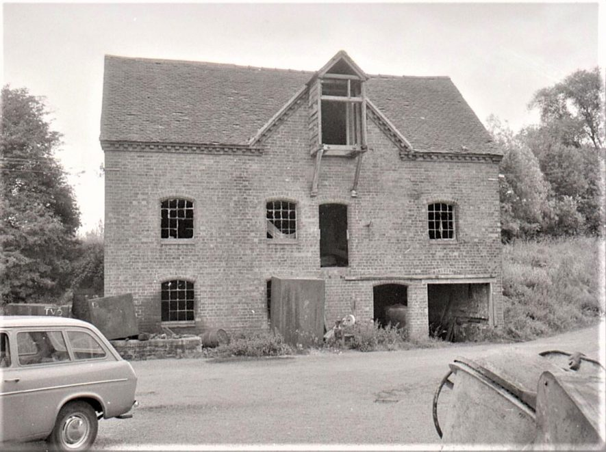 Mercote Mill, October 1970. Now demolished | Image courtesy of June Booth
