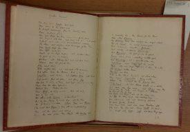 Fair manuscript copy of Rupert Brooke's poem, 'Youth's Funeral', 1913 | Bodleian Libraries, MS. Don. d. 1.