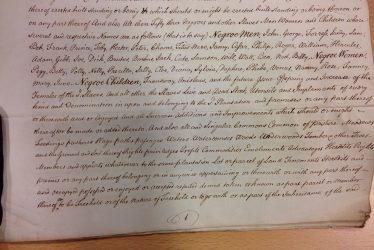 Slavery Documents in the Warwick Castle Archive