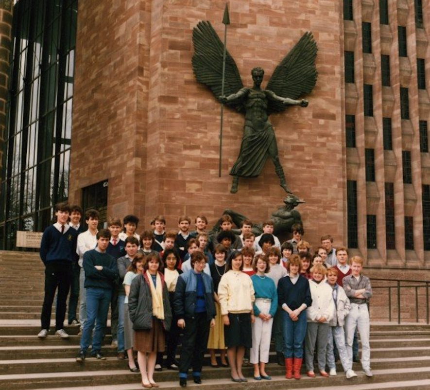 Coventry (Lanchester) Polytechnic BTEC HND in Business and; Finance, 1984. | Image courtesy of Gary Stocker