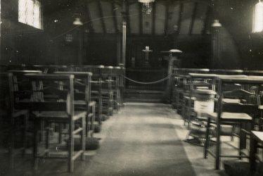 Bascote Heath.  Church interior