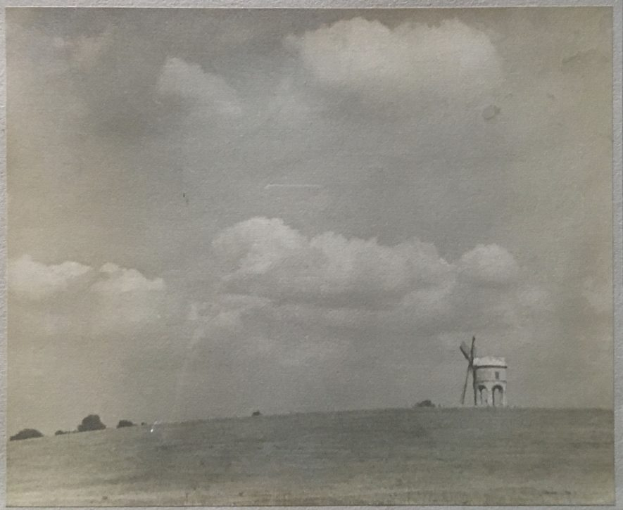 Chesterton windmill graphite and inkwash picture | Image supplied by Shaun McNamee, artist unknown.