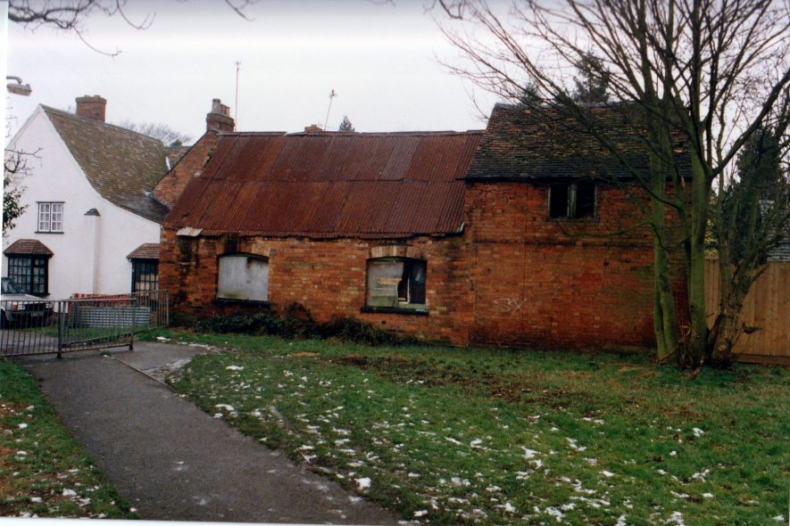 Joseph M. Ward's now derelict home and smithy, 1994 | Image courtesy of John Shakespear