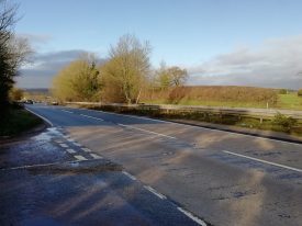 A45 from Freeboard Lane, Stretton on Dunsmore | Image courtesy of Gary Stocker