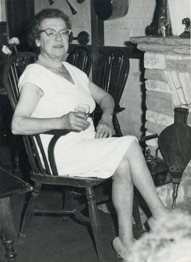 Rowington. Mercedes Griffith at the Case is Altered | Image courtesy of Janet Watkins