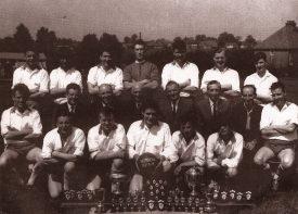 Stretton Athletic FC, Season 1963-1964   Image courtesy of Lester Staite
