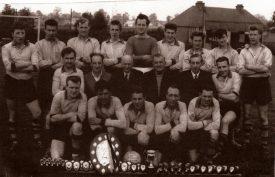 Stretton Athletic FC, Season 1961-1962   Image courtesy of Lester Staite