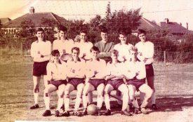 Stretton Athletic FC, Season 1964-1965   Image courtesy of Lester Staite