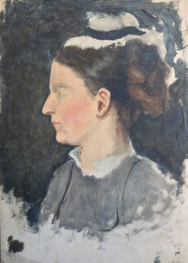 Oil Sketch of a Maid - Anne, 4th Countess of Warwick   Anne, 4th Countess of Warwick. Image courtesy of the Warwick Castle collection