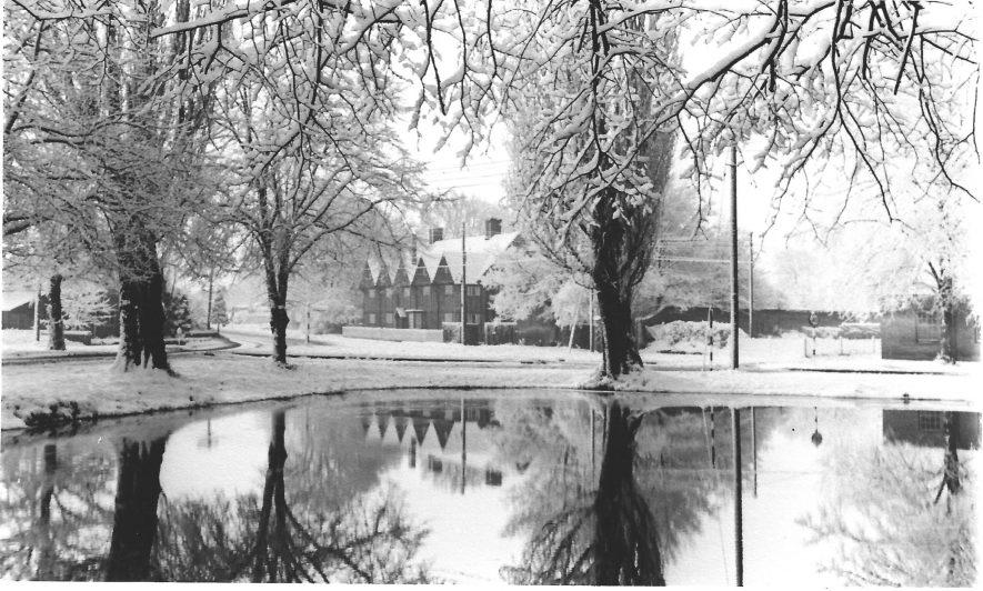 Long Itchington, 1963 | Image courtesy of Diane