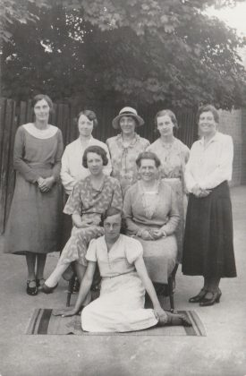 Solihull Girls School, 1930   Image supplied by Christine Cluley, courtesy of the family of Cicely Lucas